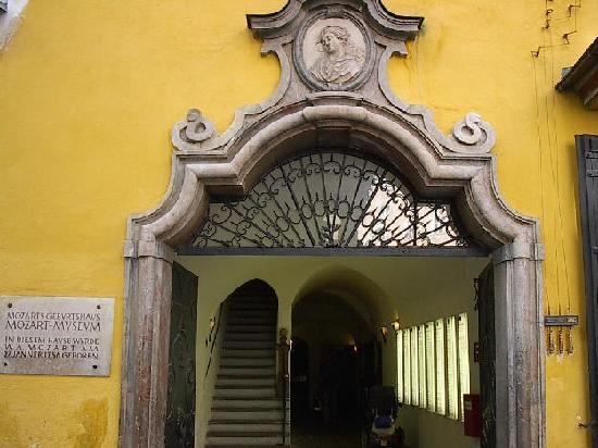The Entrance of Mozart's Home